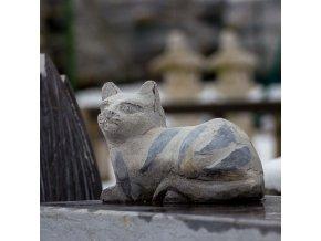 Kočka ležící (vápenec)  + doprava zdarma